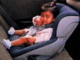 幼児用シート後向き