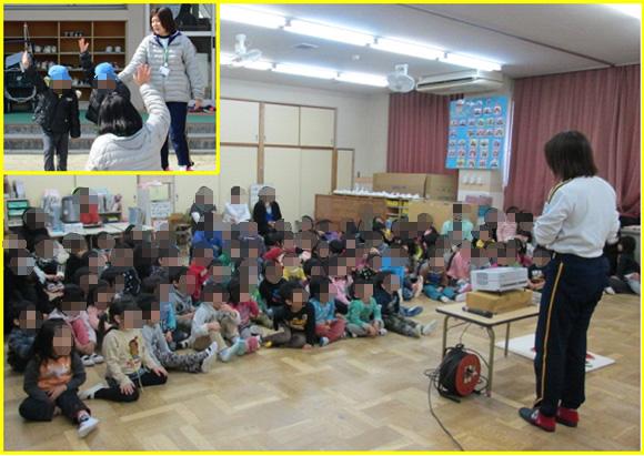 幼児交通安全教室の開催