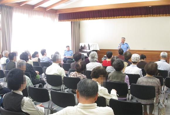 高齢者交通安全教室の開催