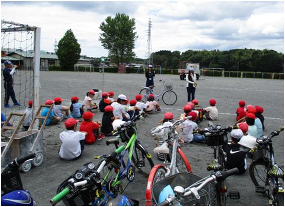 三和小学校における交通安全教室の開催