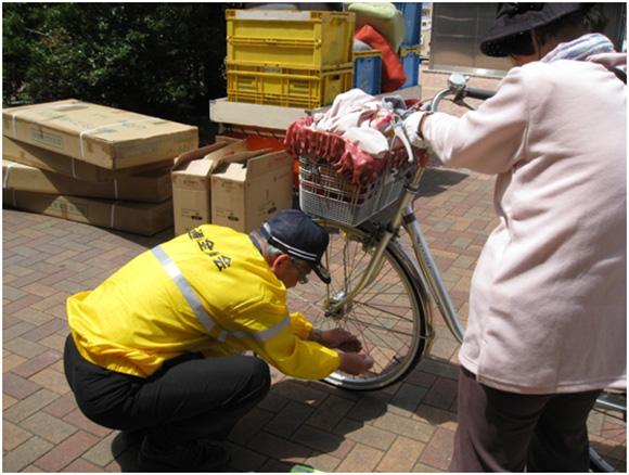 自転車安全対策強化日(S・Bデー)における広報啓発活動の実施