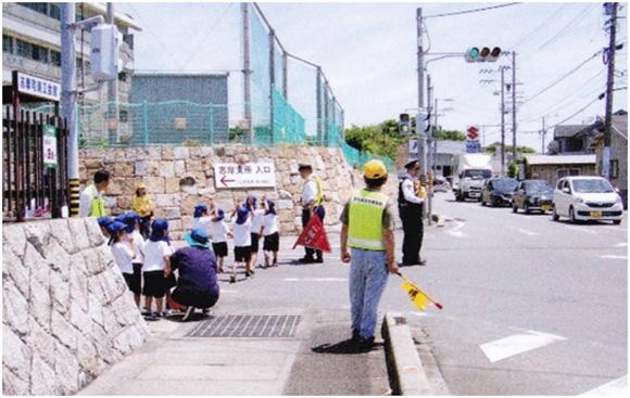 志摩幼稚園における幼児交通安全教室の開催