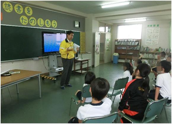 向井小学校における自転車教室の開催