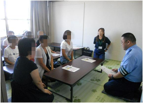 外国人(技能実習生)に対する交通安全教室の実施