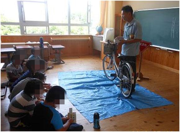 自転車交通安全教室の実施