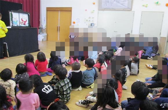 名張西保育園における交通安全教室の実施