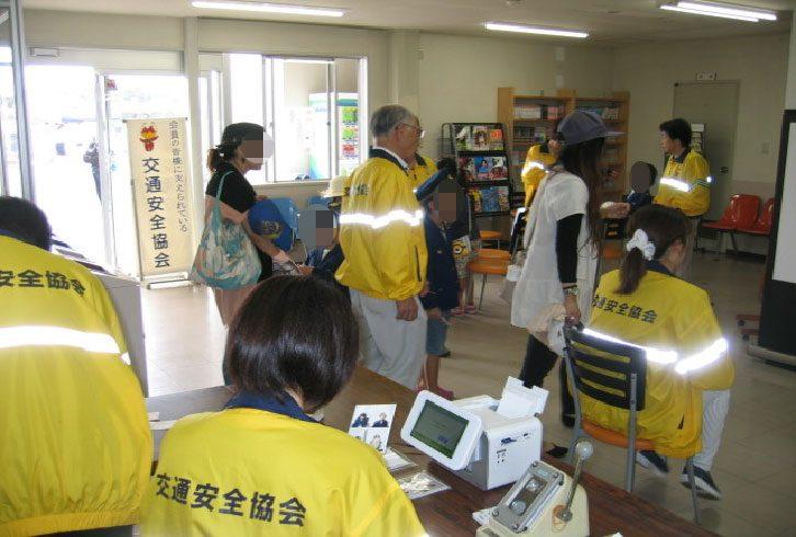 「名張自動車学校交通安全フェスタ」における交通安全啓発活動の実施