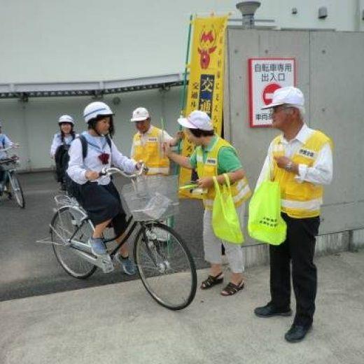 伊賀市立上野南中学校におけるSBデー活動の実施