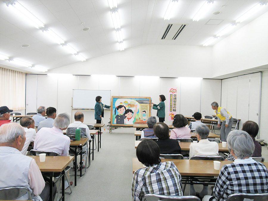 「希望ヶ丘希楽会」における高齢者交通安全教室の実施