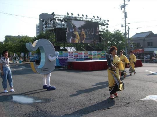 大四日市まつりにおける交通安全啓発活動の実施