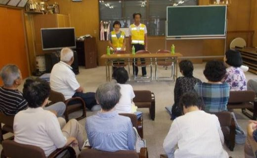 Elderly traffic safety classroom