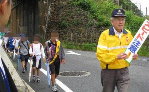 朝日町内における交通安全啓発活動の実施