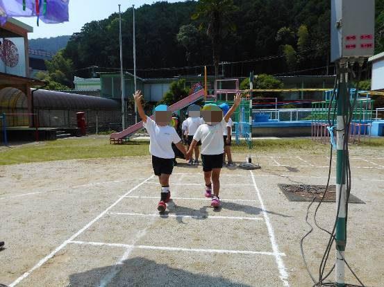 紀北町立紀伊長島幼稚園における交通安全教室の実施