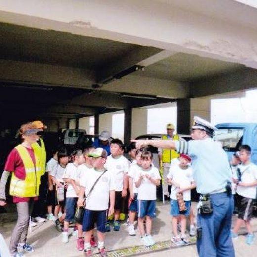 鳥羽市立答志小学校における交通安全教室の実施