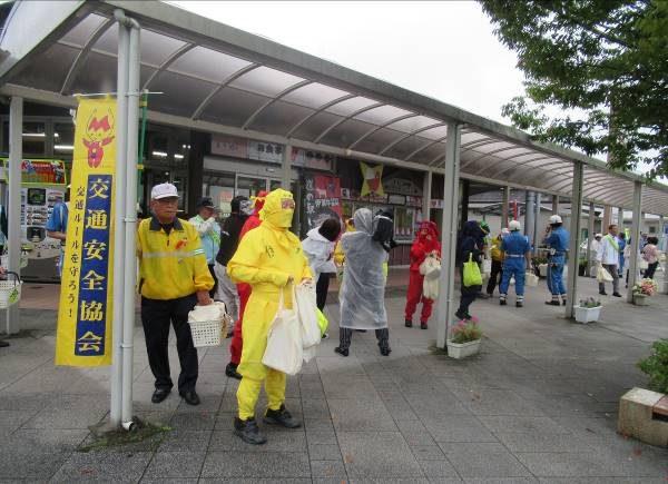 交通安全忍者キャンペーンの実施