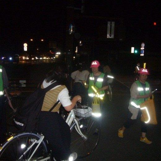 津南2019.09.26夜間反射材啓発