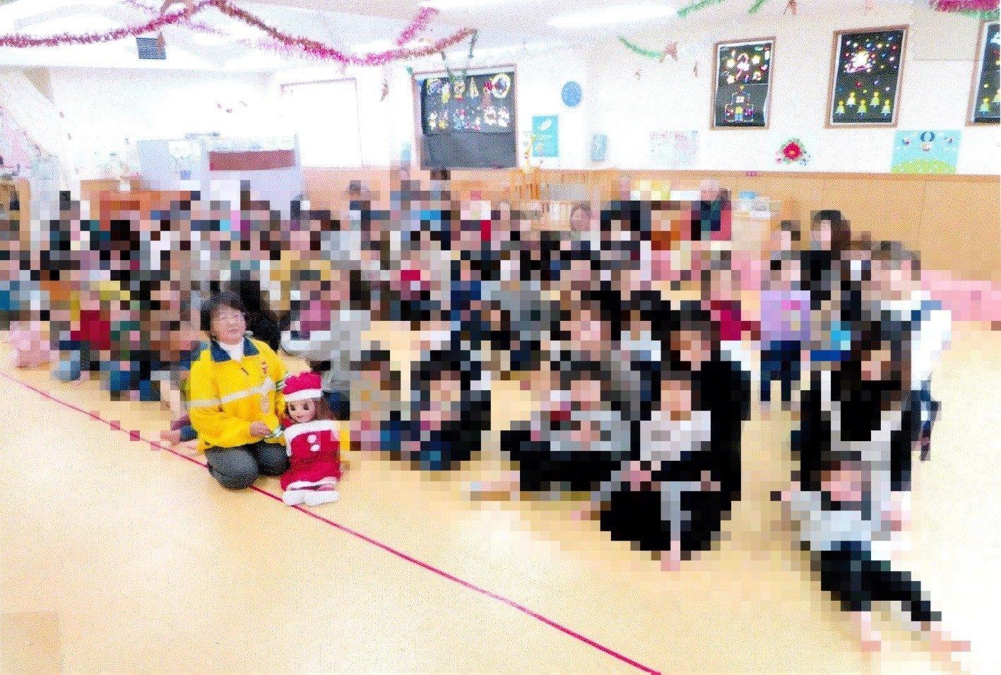 クリスマス親子交通安全教室の実施