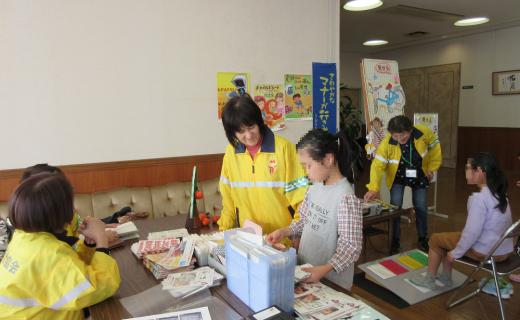 「しま国際交流フェスティバル」における広報啓発活動